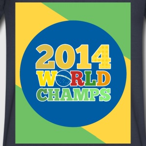 2014 World Champs - Men's V-Neck T-Shirt by Canvas
