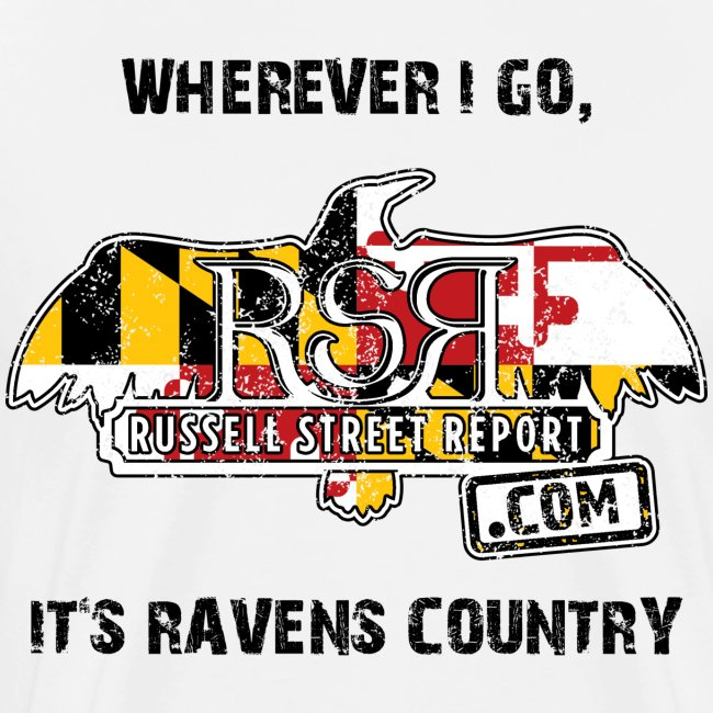 Ravens Country RSR Black Text
