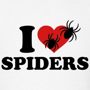 I love spiders T-Shirts - Men's T-Shirt
