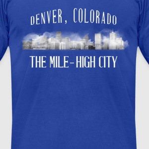 Men's The Mile High City - Men's T-Shirt by American Apparel