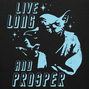 Yoda Live Long And Prosper Star Wars Star Trek - Men's Premium Tank