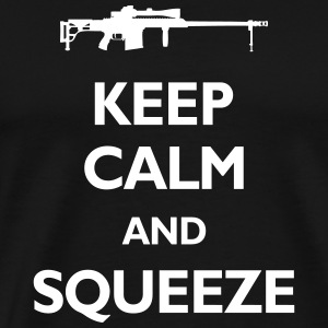 Keep Calm And Squeeze - Men's Premium T-Shirt