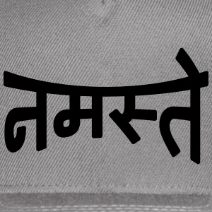 Namaste | नमस्ते Caps - Snap-back Baseball Cap