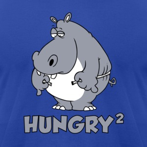 Hungry Squared T-Shirts - Men's T-Shirt by American Apparel