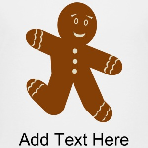 Gingerbread Man - Kids' Premium T-Shirt