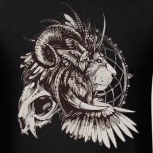 lion indian - Men's T-Shirt