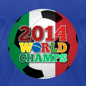 2014 World Champs Ball - Italy - Men's T-Shirt by American Apparel