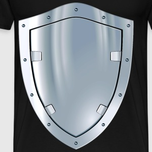 metal shield - Men's Premium T-Shirt
