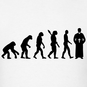 Evolution Priest T-Shirts - Men's T-Shirt