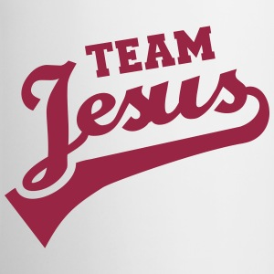 Team Jesus Bottles & Mugs - Contrast Coffee Mug