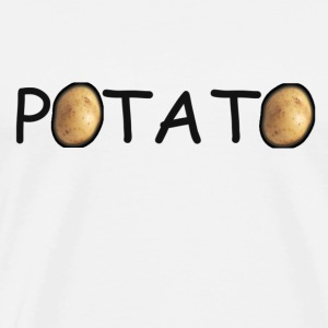 Men's Potato Shirt - Men's Premium T-Shirt
