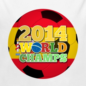 2014 World Champs Ball - Spain - Long Sleeve Baby Bodysuit