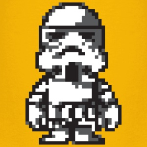 Stormtrooper in 8-bit - Kids' Premium T-Shirt