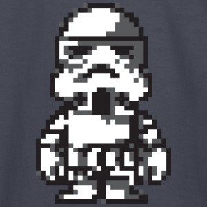 Stormtrooper in 8-bit - Kids' Long Sleeve T-Shirt