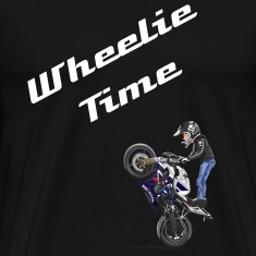 wheelie-sticker T-Shirts