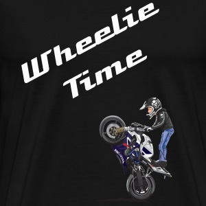 wheelie-sticker T-Shirts - Men's Premium T-Shirt