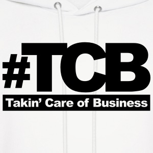 takin care of business Hoodies - Men's Hoodie