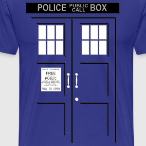 I'm in Tardis - Men's Premium T-Shirt