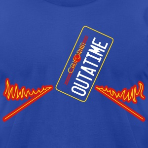 california outatime T-Shirts - Men's T-Shirt by American Apparel