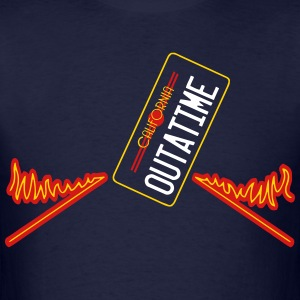 california outatime T-Shirts - Men's T-Shirt