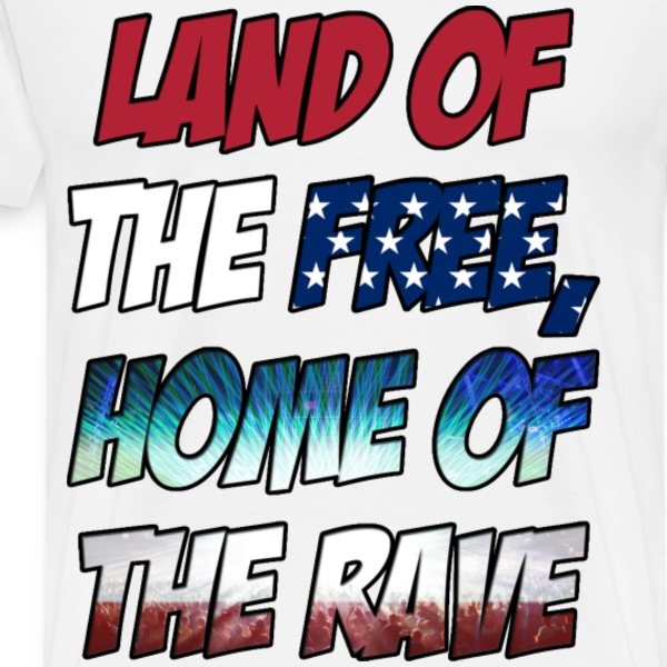 American Rave - Men's Premium T-Shirt