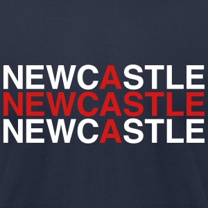 NEWCASTLE - Men's T-Shirt by American Apparel