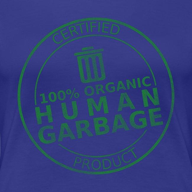100% Human Garbage (W)