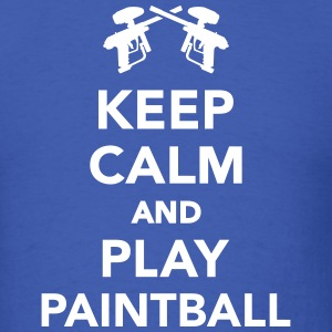 Keep calm and Play Paintball T-Shirts - Men's T-Shirt