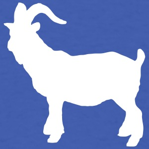 zodiac sign Capricorn goat farmer cheese animals   T-Shirts - Men's T-Shirt
