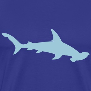 hammerhead shark hunter predator killer ocean wild T-Shirts - Men's Premium T-Shirt