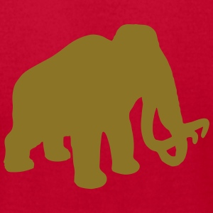 wolly mammoth Pleistocene epoch primeval times Ice T-Shirts - Men's T-Shirt by American Apparel