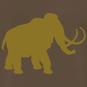 wolly mammoth Pleistocene epoch primeval times Ice T-Shirts - Men's Premium T-Shirt