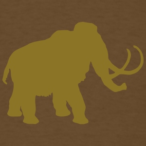 wolly mammoth Pleistocene epoch primeval times Ice T-Shirts - Men's T-Shirt