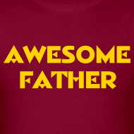 Design ~ Awesome Father (Redskins)