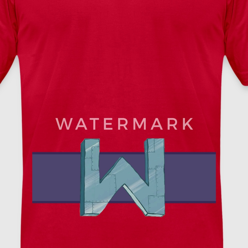 W for Wumbo - Men's T-Shirt by American Apparel