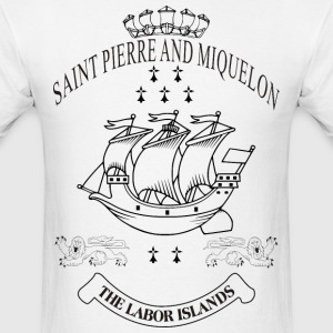 SKYF-01-064-st pierre and miquelon T-Shirts - Men's T-Shirt