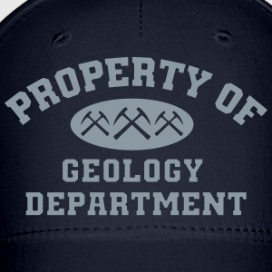 Property Of Geology Caps - Baseball Cap