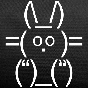 ASCII rabbit bunny hare cony leveret Char Bags & backpacks - Duffel Bag