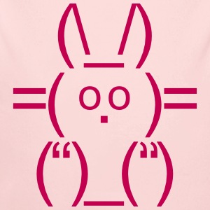 ASCII rabbit bunny hare cony leveret Char Baby & Toddler Shirts - Long Sleeve Baby Bodysuit