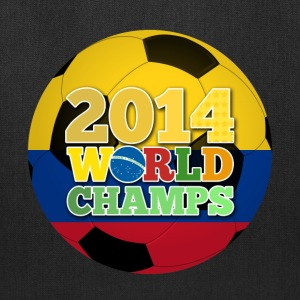 2014 World Champs Ball - Colombia - Tote Bag