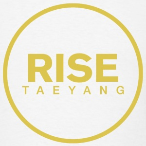Rise - Bigbang Taeyang - Yellow T-Shirts - Men's T-Shirt