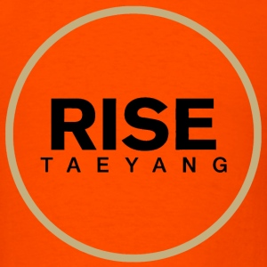 Rise - Bigbang Taeyang - Black, Gold halo T-Shirts - Men's T-Shirt