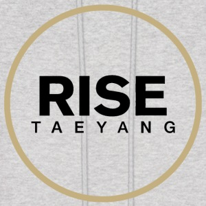 Rise - Bigbang Taeyang - Black, Gold halo Hoodies - Men's Hoodie