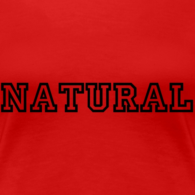 NATURAL slim fit tee