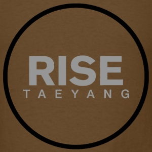 Rise - Bigbang Taeyang - Grey, Black halo T-Shirts - Men's T-Shirt