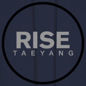 Rise - Bigbang Taeyang - Grey, Black halo Hoodies - Men's Hoodie