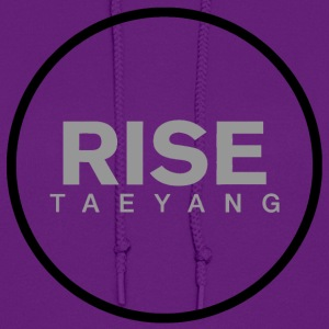 Rise - Bigbang Taeyang - Grey, Black halo Hoodies - Women's Hoodie