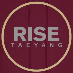 Rise - Bigbang Taeyang - Grey, Gold halo Hoodies - Men's Hoodie