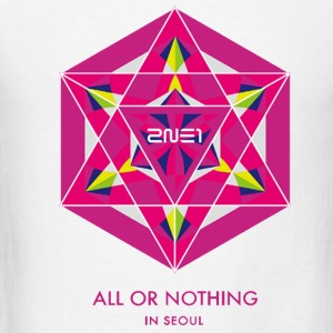 2NE1 Seoul All or Nothing  T-Shirts - Men's T-Shirt