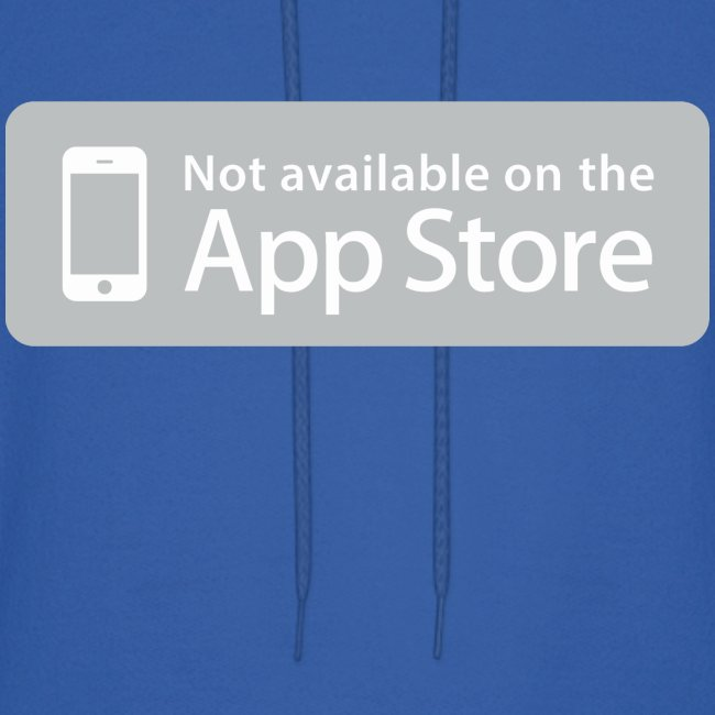 Not available on the App Store - Grey